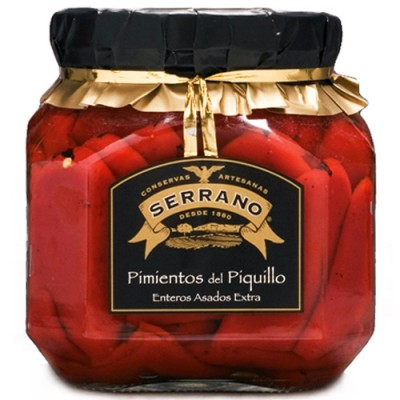 RED PIQUILLO PEPPERS IN JARS - 370GM