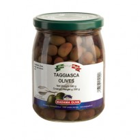 TAGGIASCA OLIVES - LIGURIA - 580 Ml