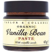 ORGANIC VANILLA BEAN PASTE - 65 GM