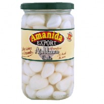 WHITE GARLIC 350 GM JARS / 4.250 KG TINS