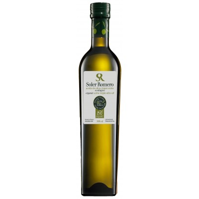 ORGANIC EXTRA VIRGIN OLIVE OIL  - 500 ML