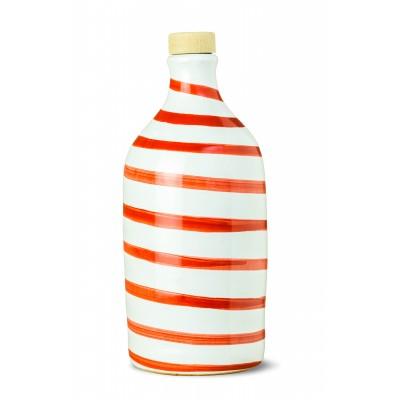 MURAGLIA Red ceramic jar-500ML