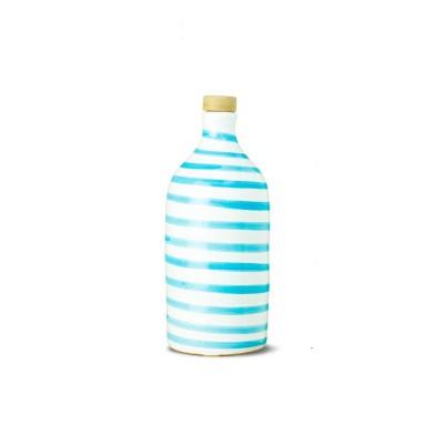 MURAGLIA Turquoise ceramic jar-500ML