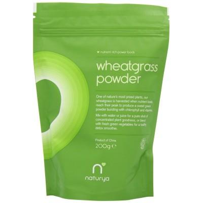 ORGANIC WHEAT GRASS POWDER - 200gm